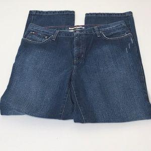 Tommy Hilfiger Distressed Boyfriend Jeans-Size 12L